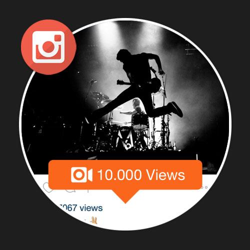 10 Mil Visualizações Em Vídeos No Instagram