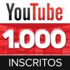 1000 Inscritos Em Seu Canal Do Youtube - Vitalício