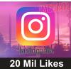 20 Mil Likes Curtidas Brasileiros Instagram!