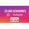 20 Mil Seguidores Instagram Universais - Reposição de 20 Dias
