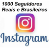 1000 Seguidores Instagram Brasileiros Reposição de 20 Dias