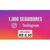 1000 Seguidores Instagram Universais - Reposição de 20 Dias